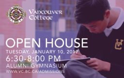 Vancouver College Open House
