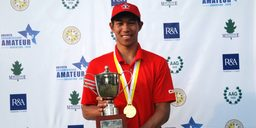South American Amateur Golf Champion - Chris Crisologo (VC'14)