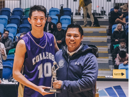 Cruz-Dumont Named Lower Mainland MVP