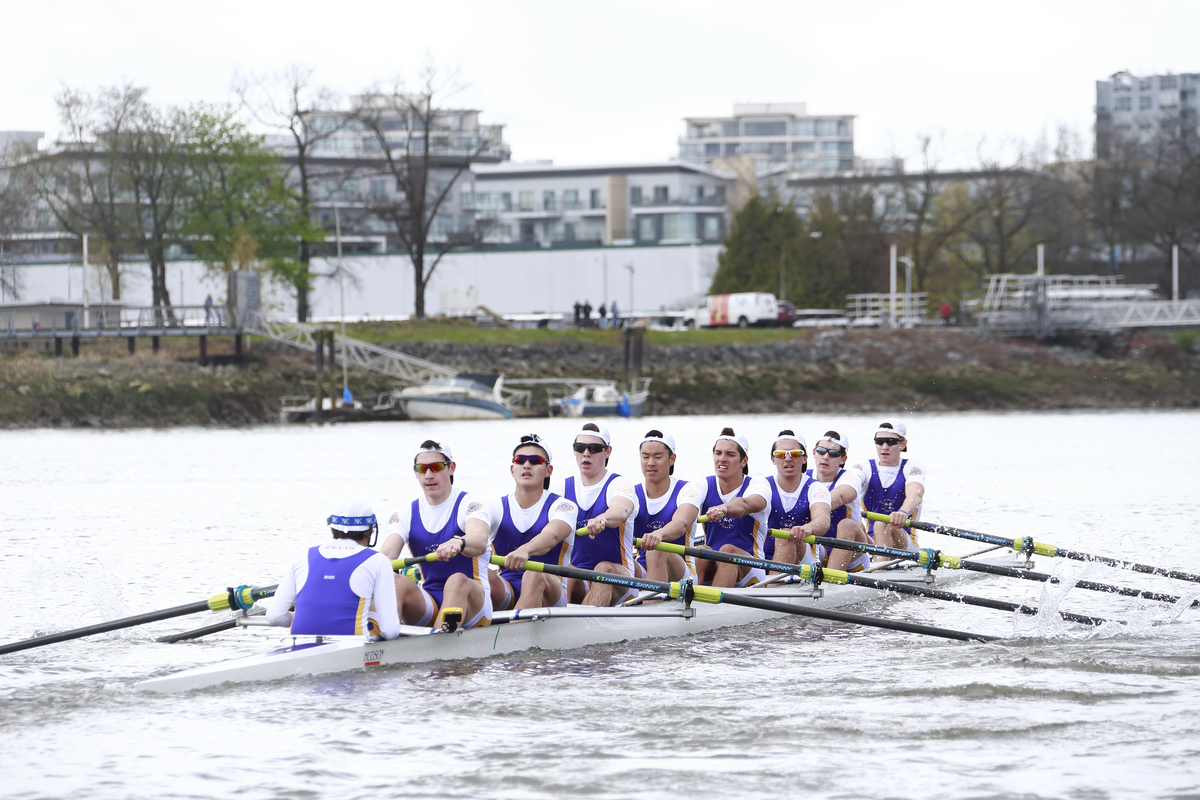 VC Battles Hard, Comes Up Short at Saints - College Boatrace
