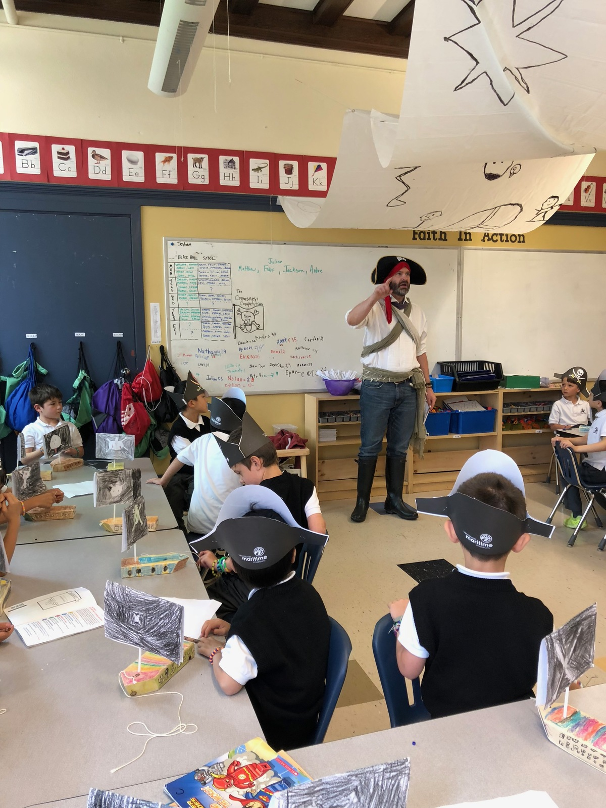 Grade 1 Pirate Unit Finishes with a Bang!