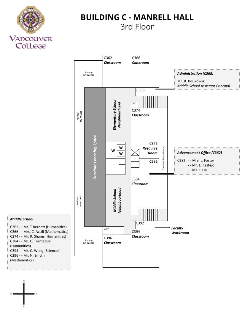 Campus Maps - Vancouver College on